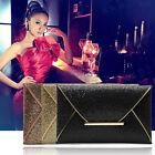 Lady Sparkling Dazzling Sequins Clutch Bag Purse Evening Party Handbag FE