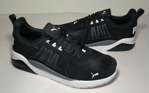 Puma Size 9.5 M ANZARUN Black Training Sneakers New Men's Shoes