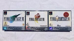 Final Fantasy 7, 8 and 9 Bundle - PS1