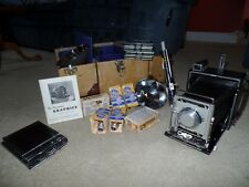 Vintage GRAFLEX PACEMAKER Crown GRAPHIC Special 45 Complete in Case Many EXTRAS