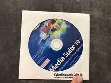 CyberLink Media Suite 10 CD + License Key