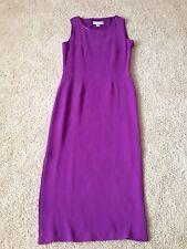 NWOT Petite Sophisticate Silk Long Dress Size 2