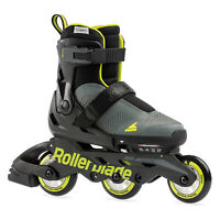 Rollerblade Microblade 3WD 070655009A9-2-5 Inline Kids Roller Skates Size 2 to 5