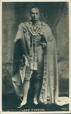 Lord Curzon Viceroy Of India Real photo unposted