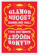 Glamor Nugget Playing Cards (Red)