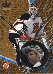1997-98 Pacific Invincible Devils Hockey Card #76 Martin Brodeur