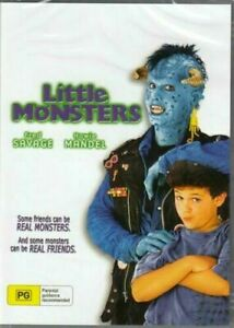 Little Monsters DVD Fred Savage Howrie Mandel New and Sealed Australian Release