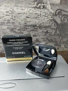Chanel Ombre Premiere Longwear Powder Eyeshadow 26  Noir Satin