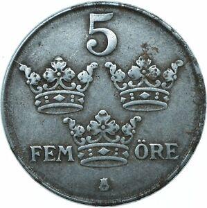 COIN / SWEDEN / 5 ORE / FEM ORE 1943   #WT20056