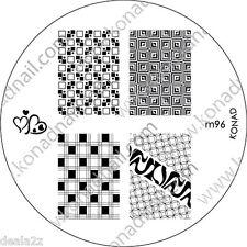 NEW IMAGE PLATE M96 Konad Stamping Nail Art Design Nails Art USA SELLER