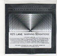 (DK368) Yeti Lane, Warning Sensations - DJ CD