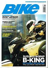 Bike Oct 2007 B-King Megamoto Sprint ST F800 ST3S GSX-R750 Bimota DB5 Nightster