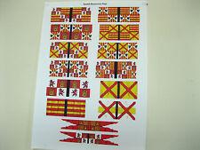 15 mm Médiéval Renaissance italienne guerres drapeaux espagnols