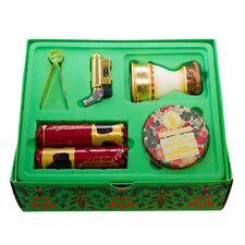 Al Haramain Oudh MA'AL Attar Full Oudh/burner Set With Holder Lighter Coal 50g