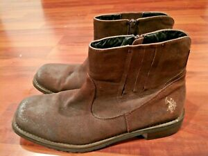 US Polo Assn. Solid Leather Shoes for