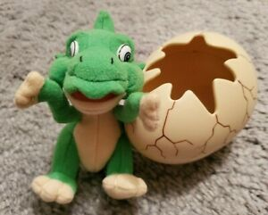 Land Before Time Ducky Plush Hatching From an Egg Rare Vintage HTF