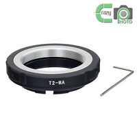 T2-MA Adapter Ring for T2 T Lens to Sony A Alpha 100 300 700 900 DSLR Cameras
