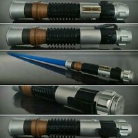 Star Wars Light Sabre Hasbro 2012 Blue Blade Extendable Hasbro