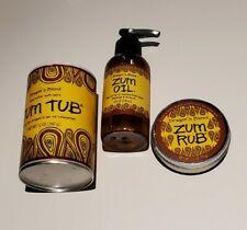 New listing Dragon'S Blood Zum Tub Shea Butter Bath Salt 12 oz. Shaker Can, Oil and Rub