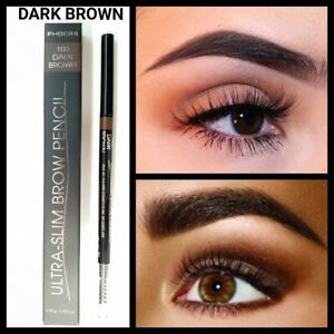 Waterproof Professional thin Microblading tattoo Eyebrow Pencil DARK  BROWN