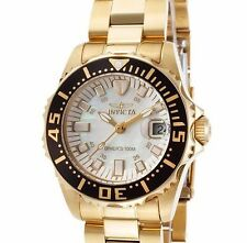 New Ladies Invicta 17596 Pro Diver Swiss White Pearl Dial Bracelet Watch