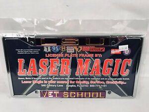 Laser Magic LSU Vet School License Plate Frame