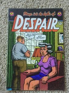 R. Crumb Plunge Into The Depths of DESPAIR 1969 1st Printing Comic - rare!