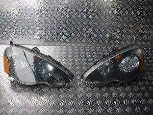 JDM Front Headlights 03-05 Fit For HONDA Acura Integra DC5 Type-R Type-S RSX