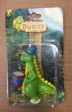 """The Adventures of Dudley the Dragon 3"""" Figurine Playing Drums"""