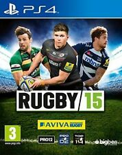 Rugby 15 Ps4 (sony PlayStation 4)