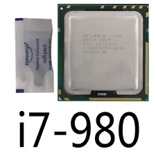 INTEL CORE I7-980 3.33 GHZ / 12M/ 4.80 LGA 1366 6 Cores 130W CPU Processor