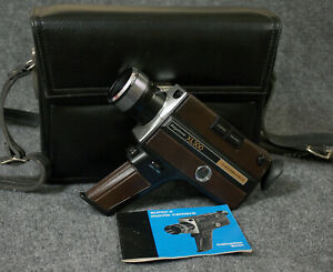 Vintage Keystone XL 300 Super 8 Video Camera - With Case and Manual.