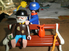 PLAYMOBIL 5504 Hobo & Police man victorian house mansion 5300