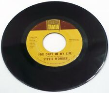 """1968 FUNK/SOUL Stevie Wonder - For Once In My Life 7"""" 45"""