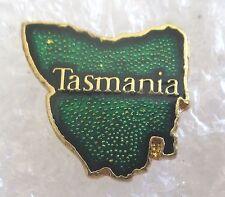 Tasmania Map Australia Travel Souvenir Collector Pin