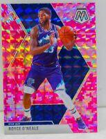 Royce O'Neale 2019-20 CAMO PINK MOSAIC PRIZM Card #53 Utah Jazz SP ??