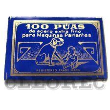 100 Puas Grammophone Needles Steel ''Leise'' - Neu - Grammophon Nadeln N58