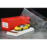 BBR 1:43 Scale Ferrari SF90 Stradale Yellow Resin Car Model Collection Limited