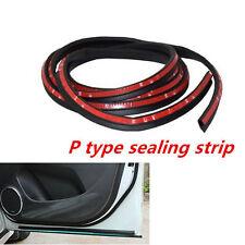 P Type 3 M Moulding Car Door Window Rubber Seal Strip Soundproofing WeatherStrip