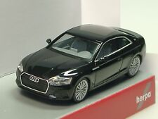 Herpa audi a5 Coupe, negro - 028660 - 1/87