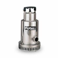 "Flotec FP0S4100X - 68.3 GPM 1/2 HP (1-1/4"") Stainless Steel Waterfall / Utili..."