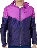 Nike Mens' Windrunner Colorblock Purple Running Jacket CK6341-521 Multiple Sizes