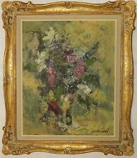 ERNESTO BUGLIONI (IT 1914-1999) ORIGINAL ITALIAN MODERNIST PAINTING SIGNED