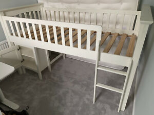 M&S Children's Cabin Bed with Desk / Cupboard which stores underneath