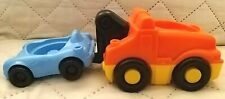 """2006 Mattel FISHER-PRICE Kids Tow Truck vehicle with sound 2 1/2"""" x 5"""""""
