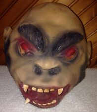 Scary Gorilla Mask - Ape Monkey Halloween One Size Fits All Adult