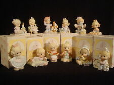 t Precious Moments-RARE-Complete 12 Days Of Christmas Set
