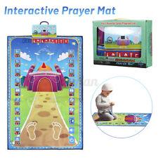 Islamic Electronic Prayer Mat Muslim Musallah Namaz Prayer Carpet Kids Blanket