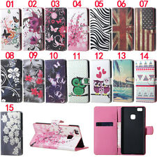 Zebra Owl Wallet Leather Skin Flip Case Cover For Huawei Honor 4C 5C P8 P9 Lite