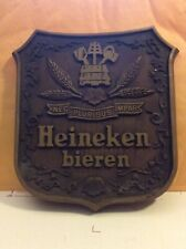 Vintage Heineken Nec Pluribus Impar Beer Sign